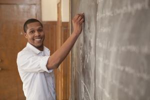 ES Student Chalkboard