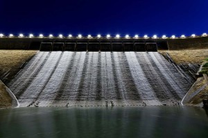 picture of water dam