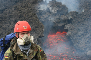 Why do scientists study volcanoes